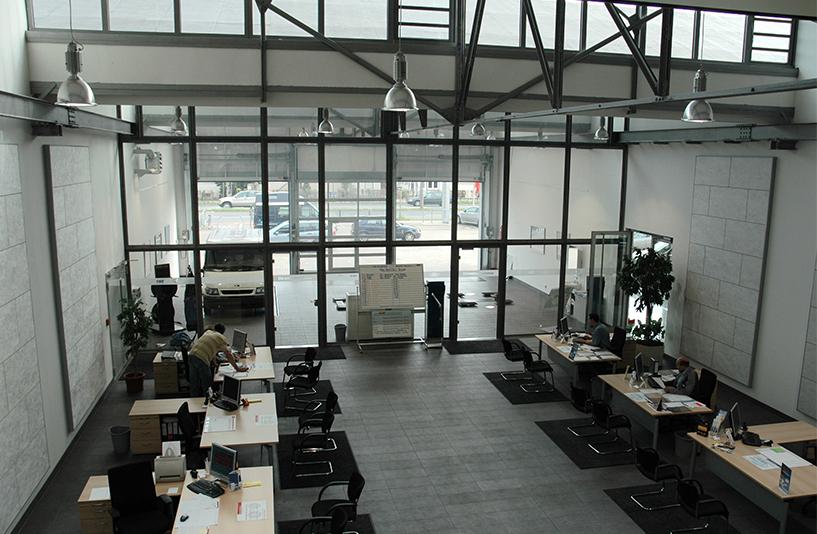 Italo Motors -  Bereich der Kundengespräche