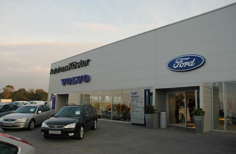 Autohaus Köster - Eingangsbereich