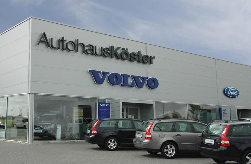 Autohaus Köster -  Schriftzug