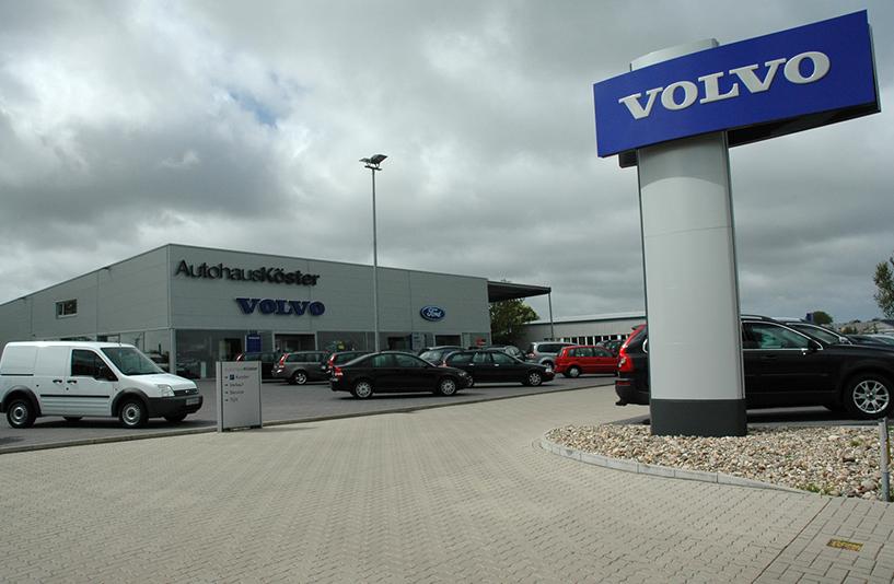 Autohaus Köster -  Außenbereich