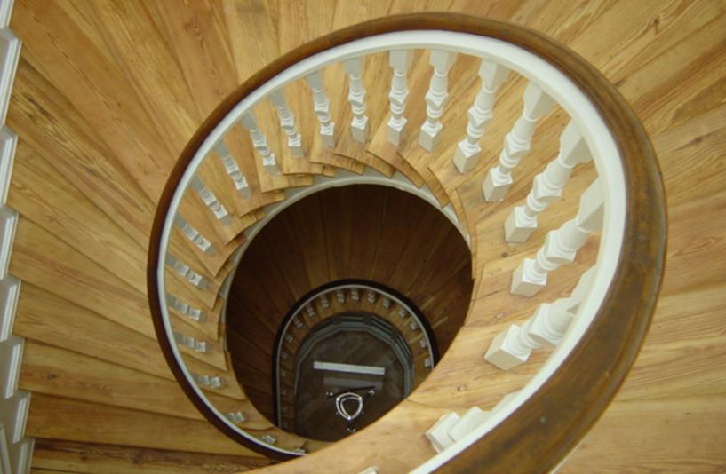 Kreftingstraße - Treppenaufgang