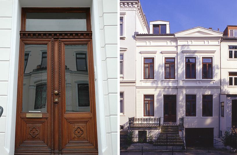 Kreftingstraße - Gebäudefront