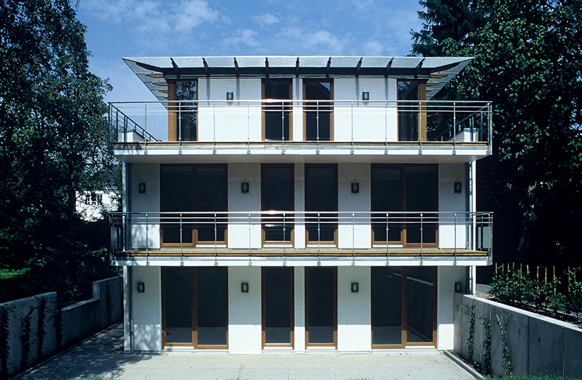 Mehrfamilienhaus K - Fensterfront