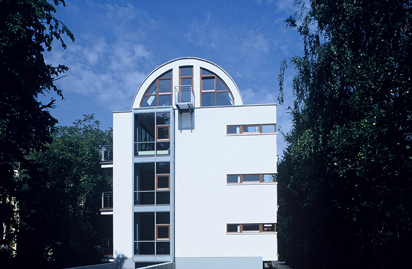 Mehrfamilienhaus K - Seitenansicht