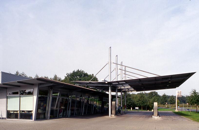 Ford Rösner - Tankstelle