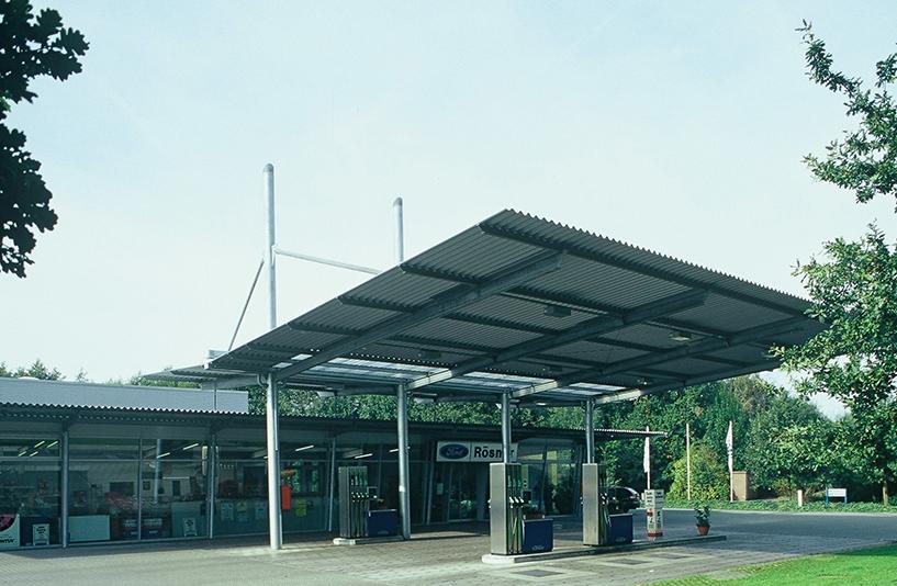 Ford Rösner - Tankstelle Frontansicht