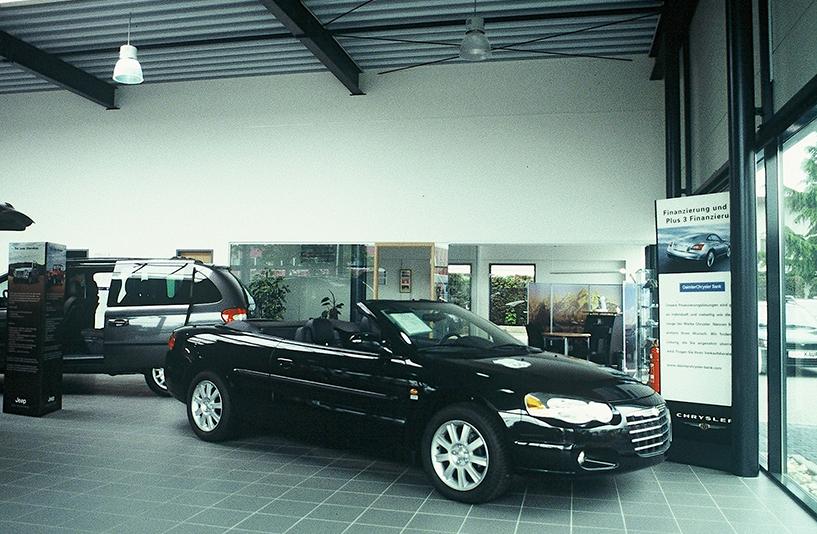 Autohaus Prinzert - Details des Showrooms