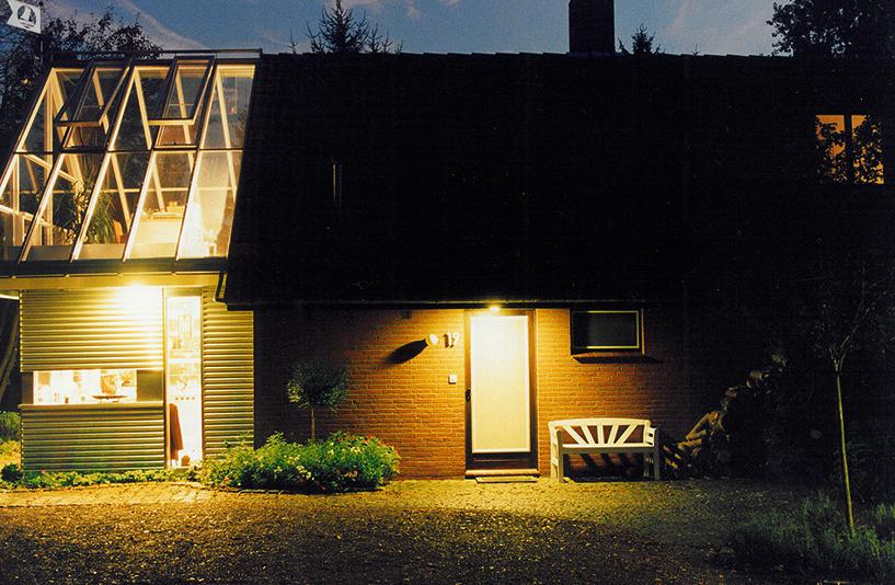 Wohnhaus W - Gebäude bei Nacht