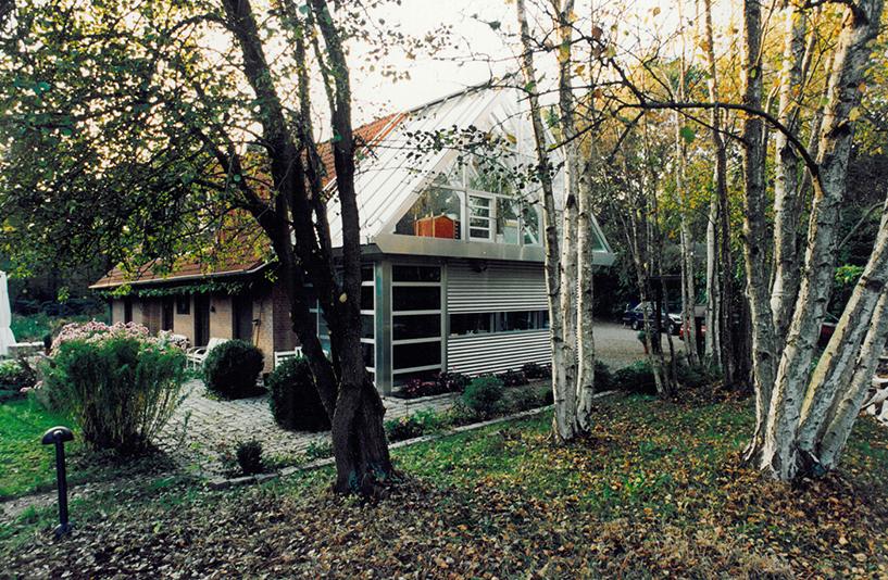 Wohnhaus W - Seitenansicht