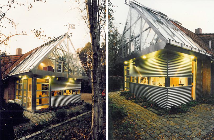 Wohnhaus W - Küchenbeleuchtung von außen