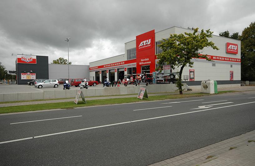 ATU Werkstatt - Straßenansicht