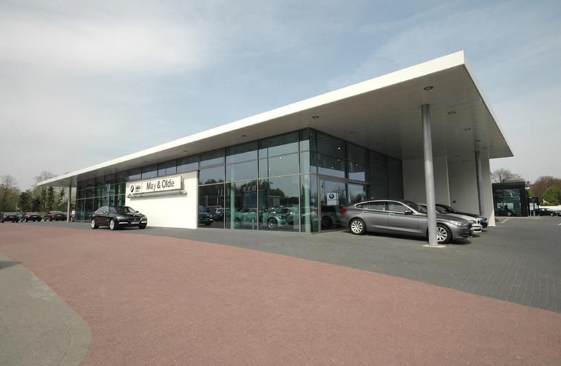 Autohaus May & Olde - Außenansicht