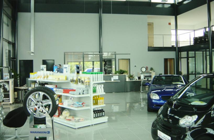 Autohaus Menzel -  Detailansicht