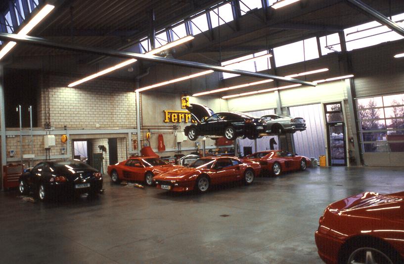 Autohaus Wendelstein - Hebebühnen