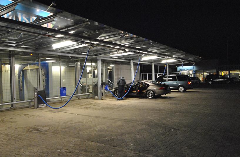 BAF Waschanlage Bergmann Autowäsche - Innenraumreinigung