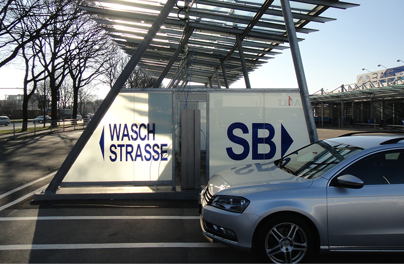 BAF Waschanlage Bergmann Autowäsche - Waschstraße