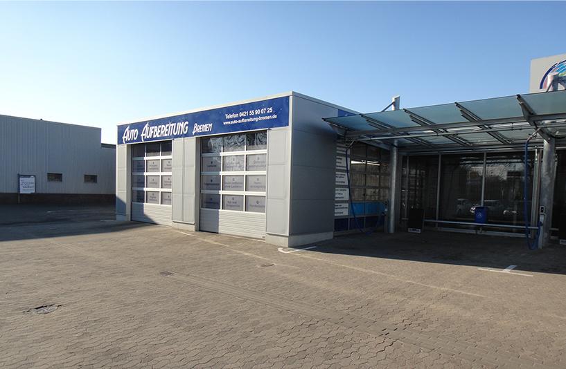 BAF Waschanlage Bergmann Autowäsche - Auto Aufbereitung