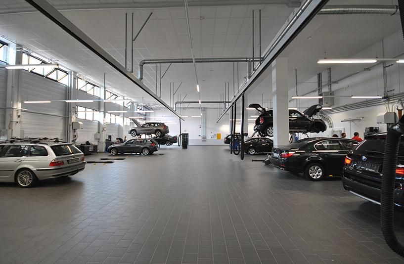 Autohaus BMW Nefzger Berlin - Werkstatt