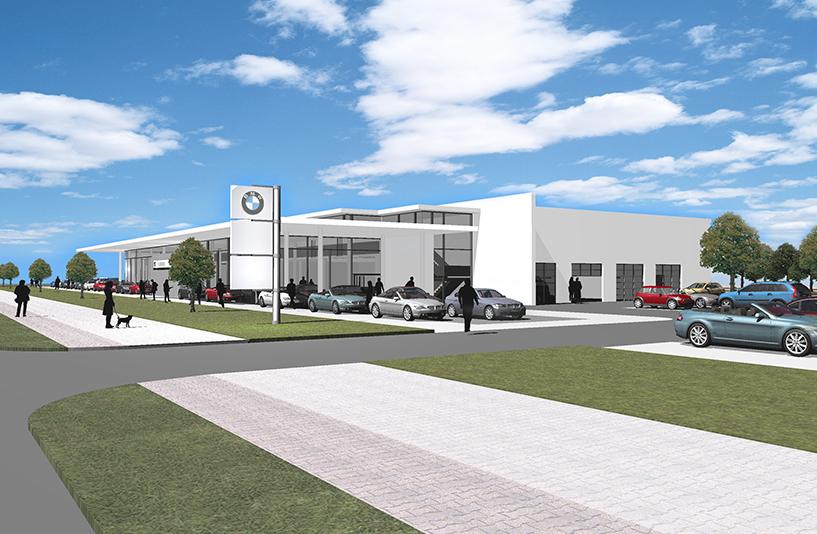 BMW Trudering - Gebäudeplanung