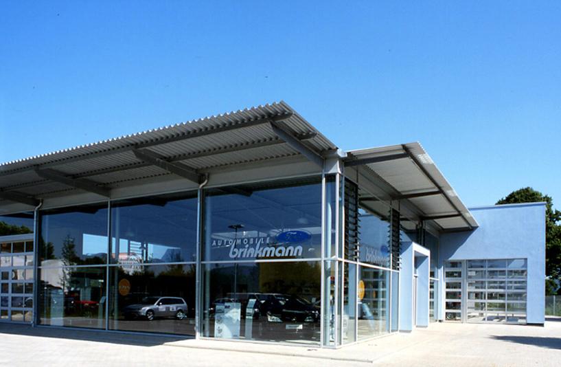Autohaus Brinkmann - Seitenansicht
