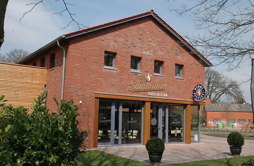Geschäftshaus Brüning - Eingangsbereich