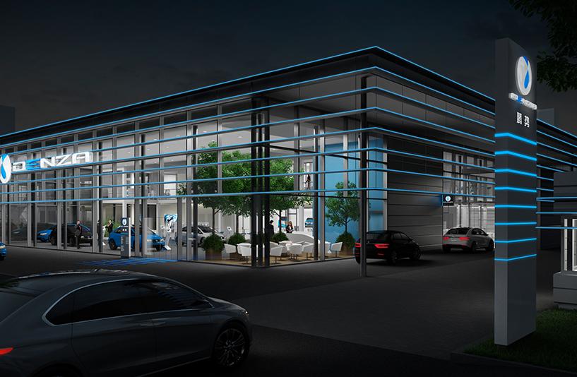 DENZA, China - Digitale Gebäudeplanung