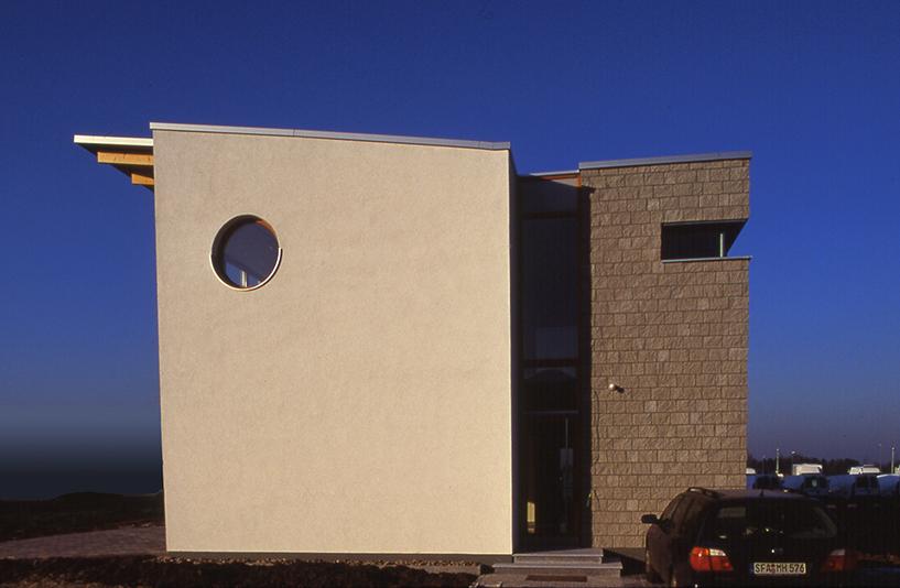 Wohnhaus K - Gebäudeansicht
