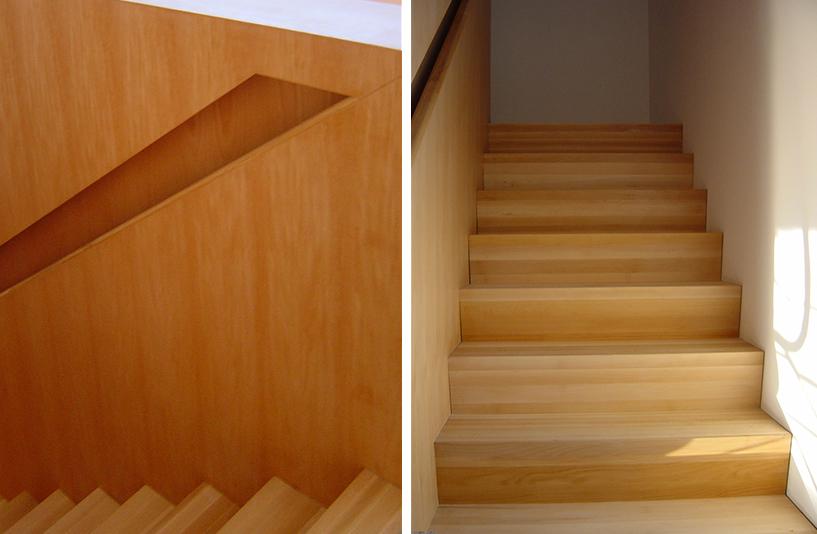 Wohnhaus K - Treppenaufgang