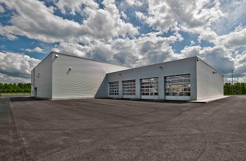Mercedes-Benz NFZ-Zentrum Eschweiler – Außenansicht
