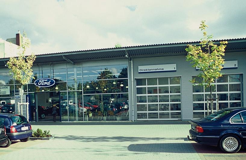 Autohaus Schiffmann - Eingangsbereich