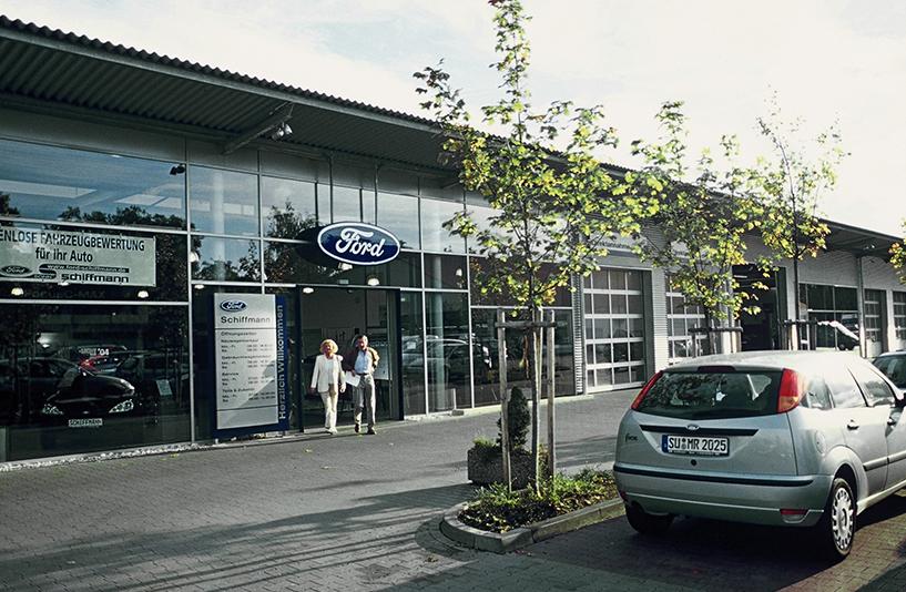 Autohaus Schiffmann - Eingang