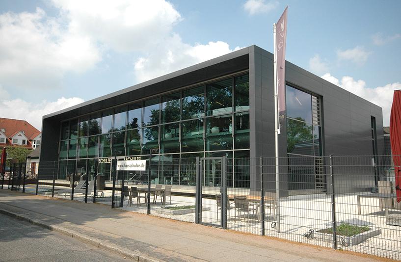 Gartencenter Schulze - Gebäudeansicht