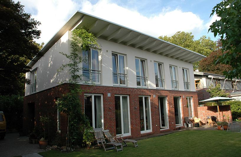 Haus J - Gartenansicht
