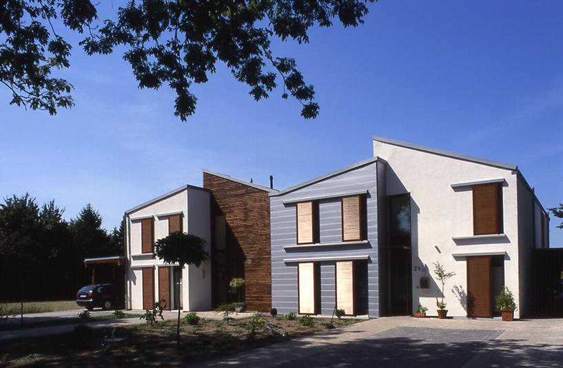Wohnhaus K+W - Gebäudeansicht