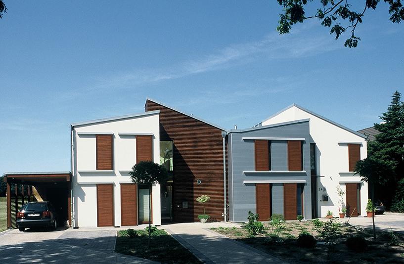 Wohnhaus K+W - Frontansicht