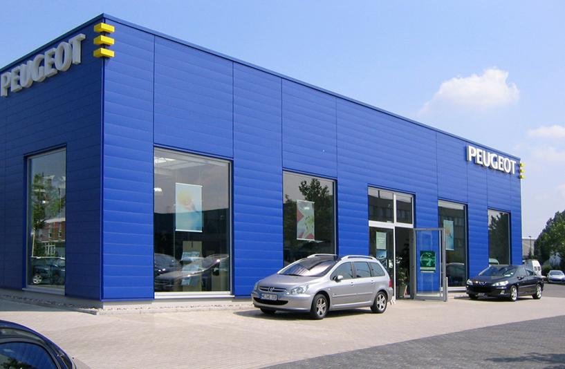 Peugeot Westfalen – Außenansicht