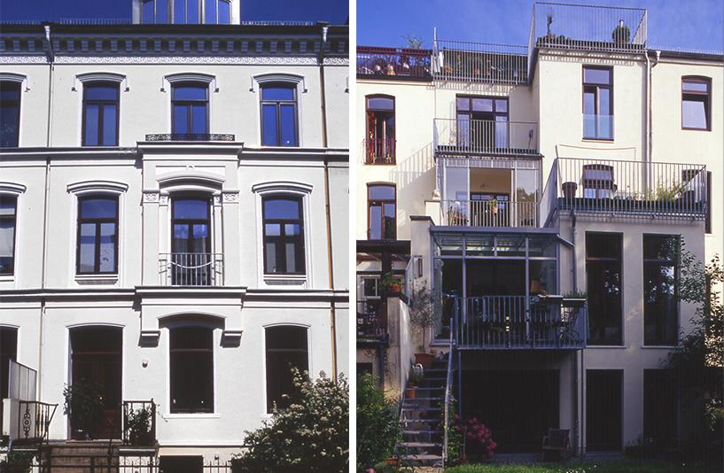 Wohnhaus Kreftingstraße 5 – Außenansicht