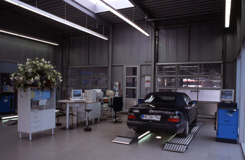 Mercedes-Benz Kniest – Werkstatt