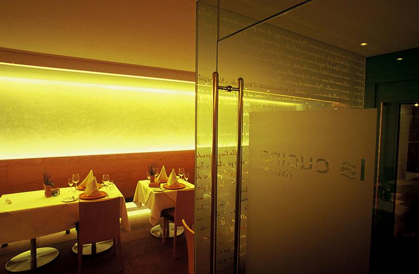 La Cucina - Gläserner Eingangsbereich