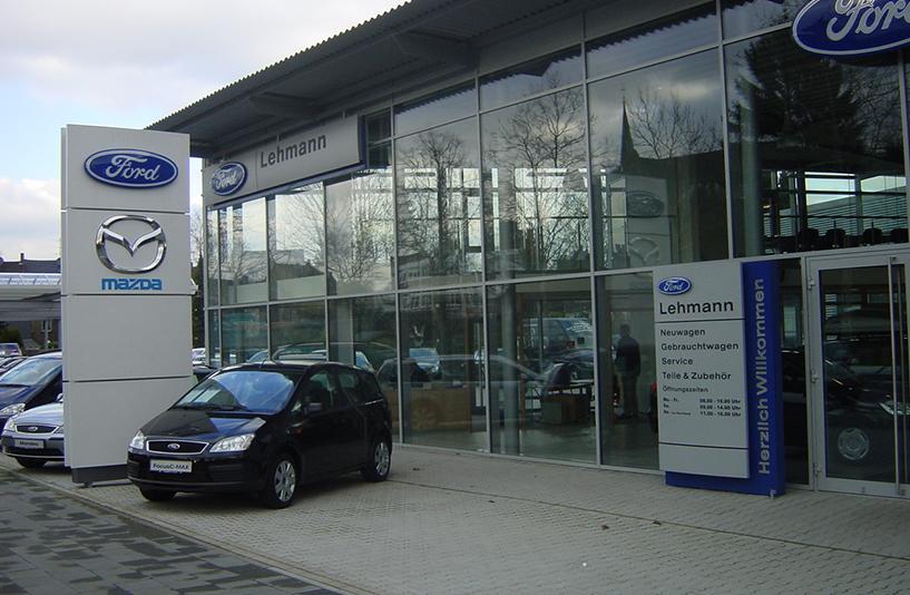 Autohaus Lehmann -  Eingangsbereich