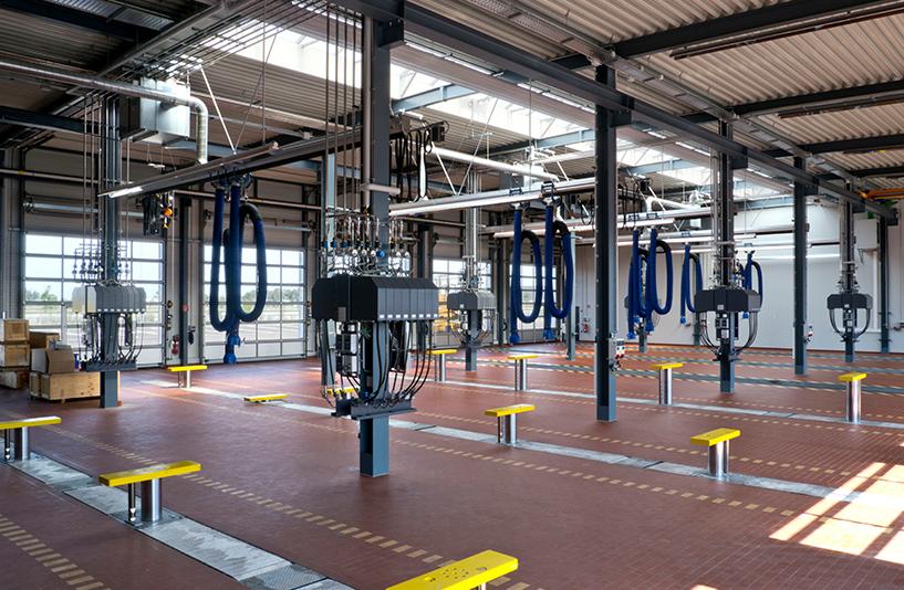 Mercedes-Benz NFZ-Zentrum Augsburg - Werkstatt