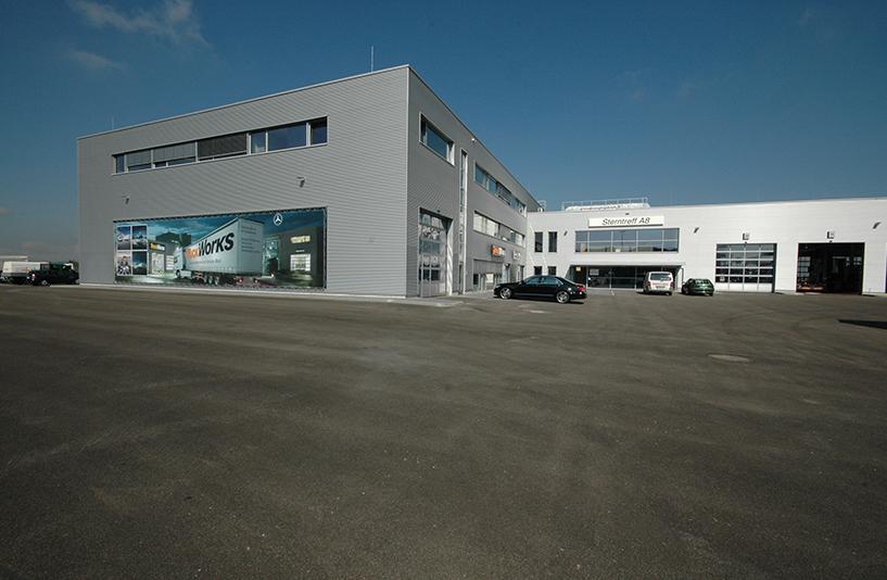 Mercedes-Benz NFZ-Zentrum Augsburg - Außenansicht
