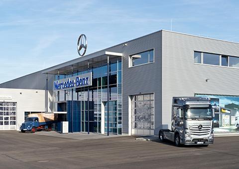 Mercedes-Benz NFZ-Zentrum Augsburg