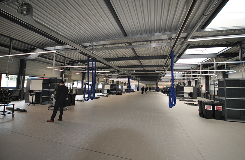 Merecedes Benz Beresa – Werkstatt