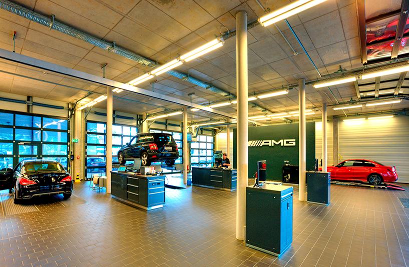 Mercedes Benz Bremen – Werkstatt