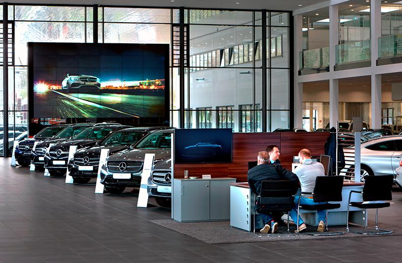 Mercedes Benz Bremen – Kundenberatung