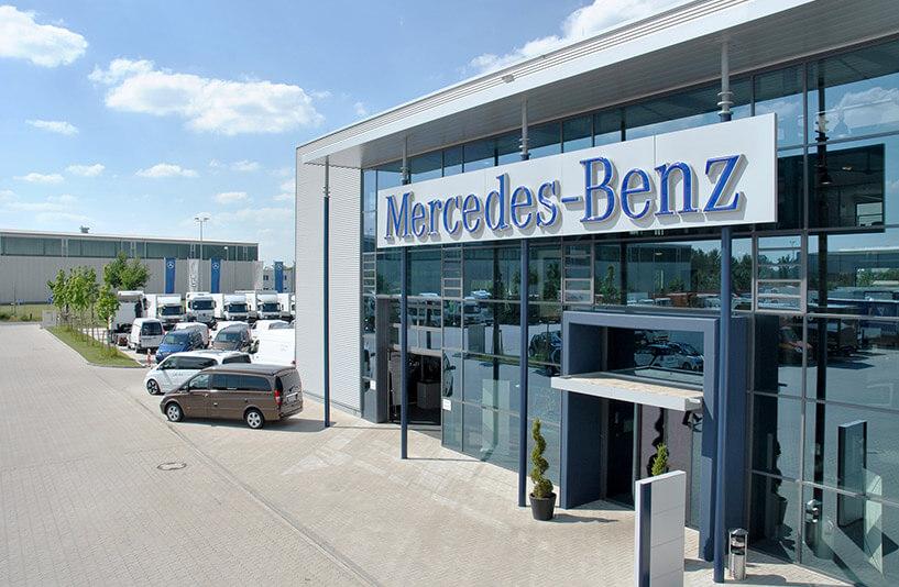 Mercedes-Benz NFZ-Zentrum Weser-Ems – Außenansicht