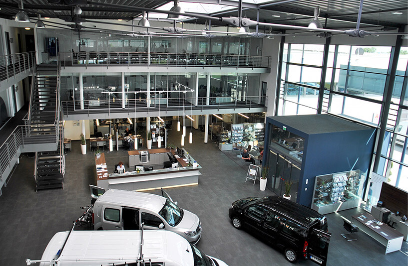 Mercedes-Benz NFZ-Zentrum Weser-Ems – Showroom