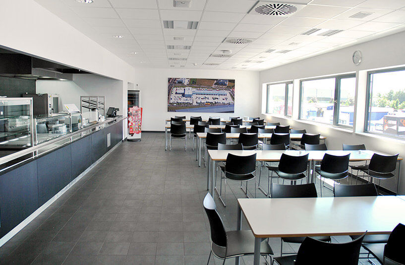 Mercedes-Benz NFZ-Zentrum Weser-Ems – Kantine