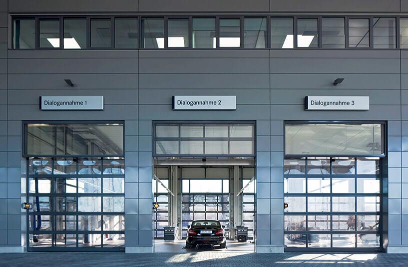 Mercedes-Benz PKW NDL Nürnberg – Ansicht Dialogannahme